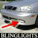 1997-2002 DAEWOO LANOS FOG LIGHTS DRIVING LAMPS LIGHT LAMP KIT sen assol 1999 1998 1999 2000 2001