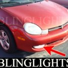 2000 2001 DODGE NEON HIGHLINE FOG LIGHTS DRIVING LAMPS LIGHT LAMP KIT