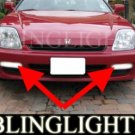 1997-2001 HONDA PRELUDE FOG LIGHTS DRIVING LAMPS LIGHT LAMP KIT type-s type-sh sir-s 1998 1999 2000