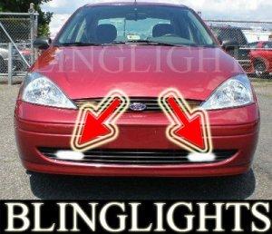 2000-2004 FORD FOCUS SEDAN ZTS XENON FOG LIGHTS DRIVING LAMPS LAMP LIGHT KIT 2001 2002 2003