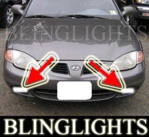 1996-2000 Hyundai Elantra GLS Xenon Fog Lights Driving Lamps Kit 1997 1998 1999