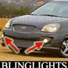 2006 2007 2008 2009 KIA RONDO LED XENON FOG LIGHTS DRIVING LAMPS LAMP LIGHT KIT ex lx sx spectra5