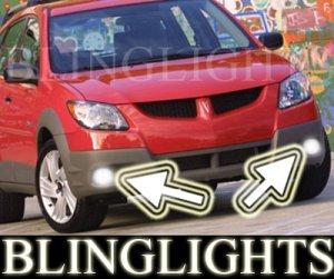 2003 2004 PONTIAC VIBE XENON FOG LIGHTS DRIVING LAMPS LIGHT LAMP KIT 03 04