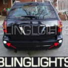 2003 2004 PONTIAC VIBE REAR LED XENON FOG LIGHTS BACKUP LAMPS BACK UP LIGHT REVERSE LAMP KIT