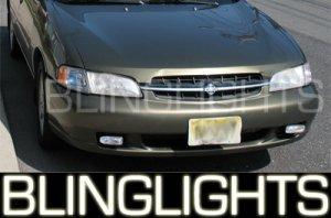 1998 1999 2000 2001 NISSAN ALTIMA XENON FOG LIGHTS DRIVING LAMPS LIGHT LAMP KIT XE GXE SE GLE L30