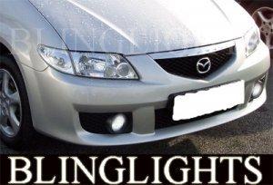 1999-2009 MAZDA 5 FOG LIGHTS LAMPS driving mazda5 premacy 2001 2002 2003 2004 2005 2006 2007 2008