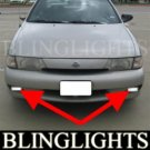 1995-1998 NISSAN 200SX FOG LIGHTS DRIVING LAMPS LIGHT LAMP KIT driving lamps se se-r 1996 1997