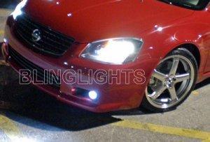 2005 2006 NISSAN SENTRA SE-R XENON BUMPER FOG LIGHTS DRIVING LAMPS LIGHT LAMP KIT 05 06 SER SE R