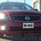 2005 2006 NISSAN SENTRA XENON FOG LIGHTS DRIVING LAMPS LIGHT LAMP KIT 05 06 2.5 S 3.5 SE SL