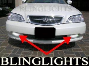 2002 2003 ACURA TL XENON BUMPER GRILLE DRIVING FOG LIGHTS LAMPS LIGHT LAMP KIT 02 03 3.2 V6