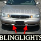 1997-2005 BUICK CENTURY FOG LIGHTS DRIVING LAMPS LIGHT LAMP KIT gl glx g gs 2000 2001 2002 2003 2004