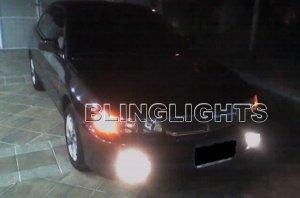 1997-2001 MITSUBISHI LANCER XENON FOG LIGHTS DRIVING LAMPS LIGHT LAMP KIT 1998 1999 2000