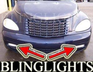 2001-2005 CHRYSLER PT CRUISER FOG LIGHTS DRIVING LAMPS LIGHT KIT convertible turbo 2002 2003 2004