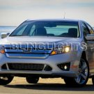 2010 2011 FORD FUSION XENON FOG LIGHTS DRIVING LAMPS LIGHT LAMP KIT S SE SEL SPORT HYBRID I4 V6