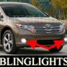 2009 2010 TOYOTA VENZA XENON FOG LIGHTS DRIVING LAMPS LIGHT LAMP KIT