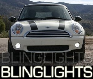 2007 2008 2009 2010 MINI COOPER XENON FOG LIGHTS DRIVING LAMPS KIT R56