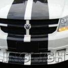 2008 2009 2010 Dodge Avenger Halos Driving Lamps Angel Eyes Fog Lights Kit