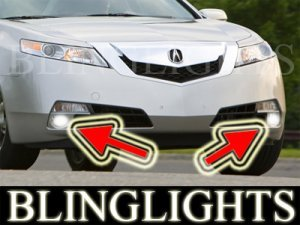 2009 2010 ACURA TL 3.5 3.7 SH-AWD Xenon Fog Lights Driving Lamps Kit