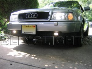 1995 1996 1997 1998 Audi A4 Xenon Fog Lights Driving Lamps Kit