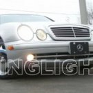 2000 2001 2002 Mercedes-Benz CLK55 AMG Xenon Fog Lights Driving Lamps Kit clk 55