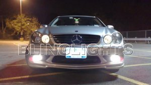 2003 2004 2005 2006 Mercedes-Benz CLK55 AMG Xenon Fog Lights Driving Lamps Kit clk 55