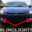 2008 2009 2010 MITSUBISHI LANCER XENON FOG LIGHTS DRIVING LAMPS LIGHT LAMP KIT de es se gts
