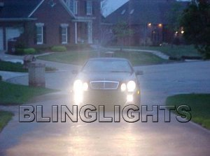 1997 1998 1999 2000 2001 2002 Mercedes-Benz CLK320 Xenon Fog Lights Driving Lamps Kit clk320