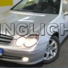 2002 2003 2004 2005 Mercedes-Benz CLK200 Xenon Fog Lights Driving Lamps Kit CLK 200