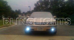 2000 2001 2002 2003 2004 2005 Chevy Impala Xenon Fog Lights Driving Lamps Kit Chevrolet