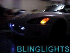 2000 2001 HYUNDAI TIBURON XENON DAY TIME RUNNING LIGHTS DRIVING LAMPS DRL LIGHT DRLS LAMP KIT