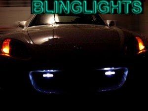 1997-2000 INFINITI QX4 PIAA DRL DAY TIME RUNNING LIGHTS LIGHT LAMP KIT qx 4 luxury 4wd v6 1998 1999
