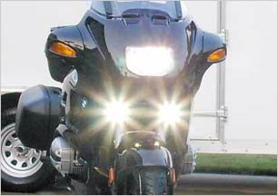 1998-2009 HARLEY-DAVIDSON NIGHT TRAIN XENON FOG LIGHTS DRIVING LAMPS LIGHT KIT 2005 2006 2007 2008