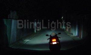 2002-2009 HONDA VTX1300 CBR 954 FOG LIGHTS driving lamps rr 2003 2004 2005 2006 2007 2008