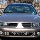 99-03 MITSUBISHI GALANT LED FOG LAMPS 00 01 02 lights