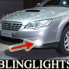 2008-2009 Subaru Outback Blue Halo Fog Lamps lights 09