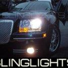 05-09 CHRYSLER 300C BLUE HALO FOG LIGHTS 07 08 LIMITED