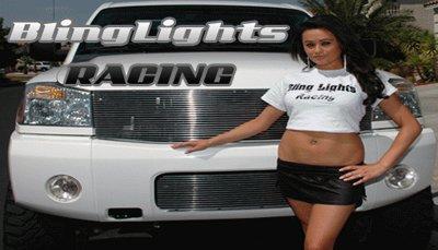 04-09 NISSAN TITAN WHITE HALO FOG LIGHTS 05 06 08 lamps