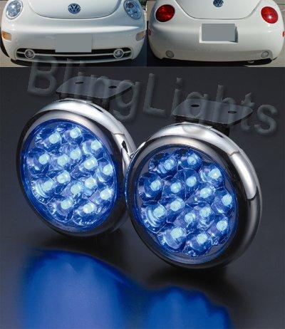 98-08 VW Beetle LED Fog Lamps Kit Lights 2.5l TDI 04 05