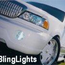 99-06 LINCOLN NAVIGATOR XENON FOG LAMPS lights 02 03 04