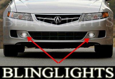 2004-2008 Acura TSX Xenon Fog Lamps lights 05 06 07 08