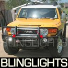 2007-2009 Toyota FJ Cruiser Halo Fog Lamps blue white