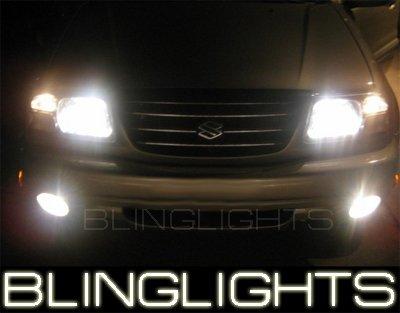 01-07 SUZUKI XL-7 White Halo Fog Lamps 04 05 lights xl7