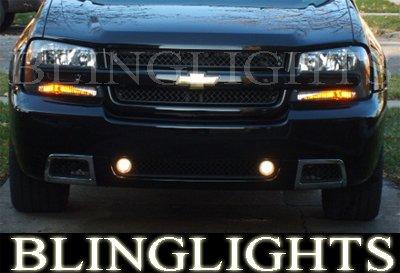 2002-2009 Chevy Trailblazer Fog Lamps Lights 05 06 07