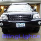 2001-2007 Toyota Highlander Halo Fog Lamps blue white