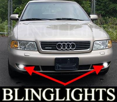1995-2000 Audi A4 1.8T Xenon Fog Lamps Lights 97 98 99