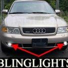 1995-2000 Audi A4 1.8T Xenon Fog Lamps Lights 97 98 99