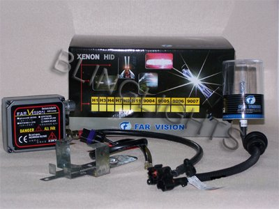 HID Conversion Kit Bixenon Hi/Low Size H4 Color 3000K