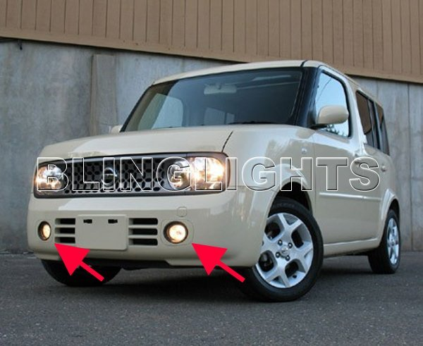 2009-2010 Nissan Cube Xenon Fog Lamps lights 09 10