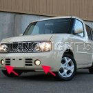 2009-2010 Nissan Cube Xenon Fog Lamps lights 09 10