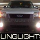 2001-2007 FORD ESCAPE HALO FOG LAMPS lights blue white